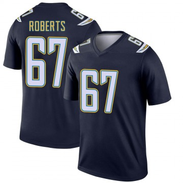 Youth Nike Los Angeles Chargers Ryan Roberts Navy Jersey - Legend