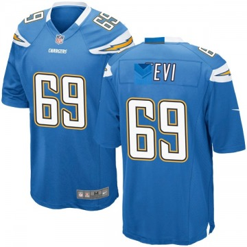 Youth Nike Los Angeles Chargers Sam Tevi Blue Powder Alternate Jersey - Game