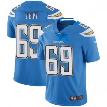 Youth Nike Los Angeles Chargers Sam Tevi Blue Powder Vapor Untouchable Alternate Jersey - Limited