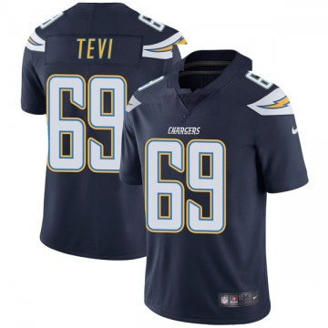 Youth Nike Los Angeles Chargers Sam Tevi Navy Team Color Vapor Untouchable Jersey - Limited