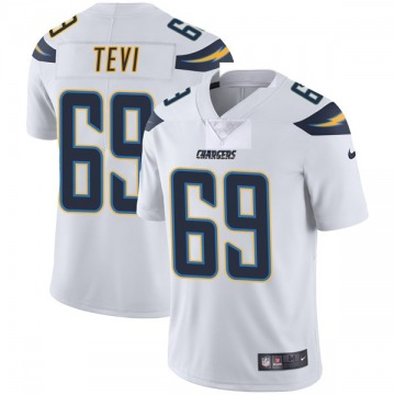 Youth Nike Los Angeles Chargers Sam Tevi White Vapor Untouchable Jersey - Limited