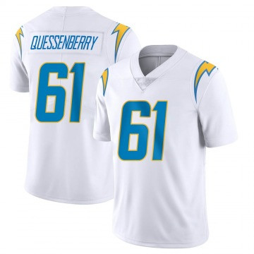 Youth Nike Los Angeles Chargers Scott Quessenberry White Vapor Untouchable Jersey - Limited