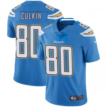 Youth Nike Los Angeles Chargers Sean Culkin Blue Powder Vapor Untouchable Alternate Jersey - Limited