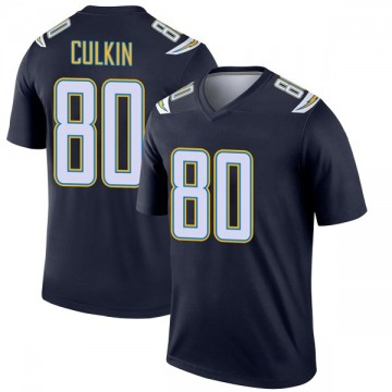 Youth Nike Los Angeles Chargers Sean Culkin Navy Jersey - Legend