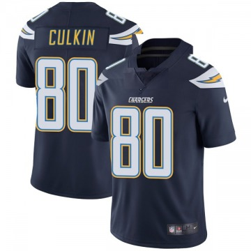 Youth Nike Los Angeles Chargers Sean Culkin Navy Team Color Vapor Untouchable Jersey - Limited