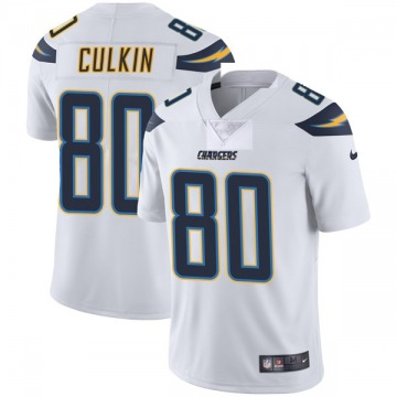 Youth Nike Los Angeles Chargers Sean Culkin White Vapor Untouchable Jersey - Limited