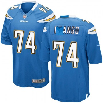 Youth Nike Los Angeles Chargers Spencer Drango Blue Powder Alternate Jersey - Game