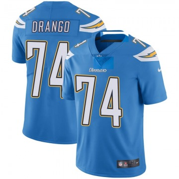 Youth Nike Los Angeles Chargers Spencer Drango Blue Powder Vapor Untouchable Alternate Jersey - Limited