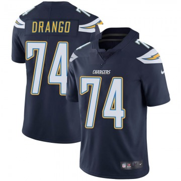 Youth Nike Los Angeles Chargers Spencer Drango Navy Team Color Vapor Untouchable Jersey - Limited