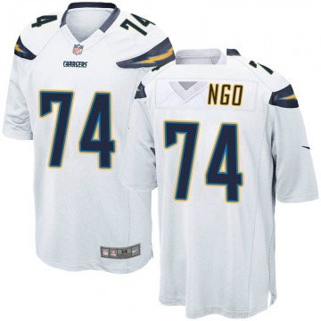 Youth Nike Los Angeles Chargers Spencer Drango White Jersey - Game