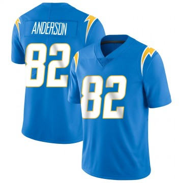 Youth Nike Los Angeles Chargers Stephen Anderson Blue Powder Vapor Untouchable Alternate Jersey - Limited