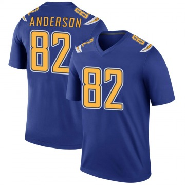 Youth Nike Los Angeles Chargers Stephen Anderson Royal Color Rush Jersey - Legend