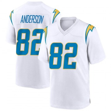 Youth Nike Los Angeles Chargers Stephen Anderson White Jersey - Game