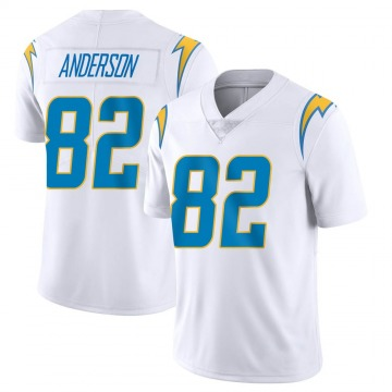 Youth Nike Los Angeles Chargers Stephen Anderson White Vapor Untouchable Jersey - Limited
