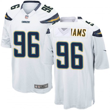 Youth Nike Los Angeles Chargers Sylvester Williams White Jersey - Game