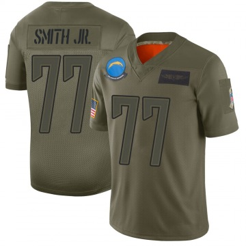 Youth Nike Los Angeles Chargers T.J. Smith Camo 2019 Salute to Service Jersey - Limited