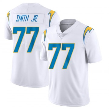 Youth Nike Los Angeles Chargers T.J. Smith White Vapor Untouchable Jersey - Limited