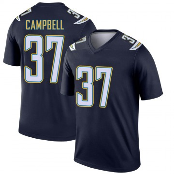 Youth Nike Los Angeles Chargers Tevaughn Campbell Navy Jersey - Legend
