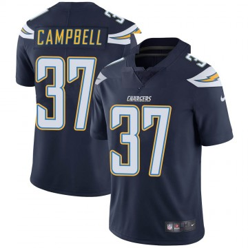 Youth Nike Los Angeles Chargers Tevaughn Campbell Navy Team Color Vapor Untouchable Jersey - Limited