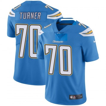 Youth Nike Los Angeles Chargers Trai Turner Blue Powder Vapor Untouchable Alternate Jersey - Limited