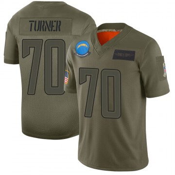 Youth Nike Los Angeles Chargers Trai Turner Camo 2019 Salute to Service Jersey - Limited