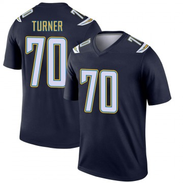 Youth Nike Los Angeles Chargers Trai Turner Navy Jersey - Legend