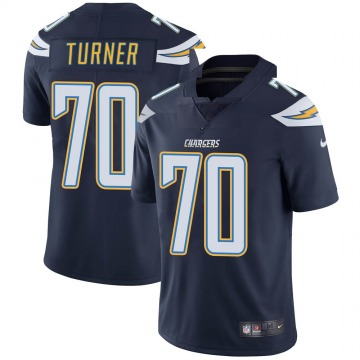 Youth Nike Los Angeles Chargers Trai Turner Navy Team Color Vapor Untouchable Jersey - Limited