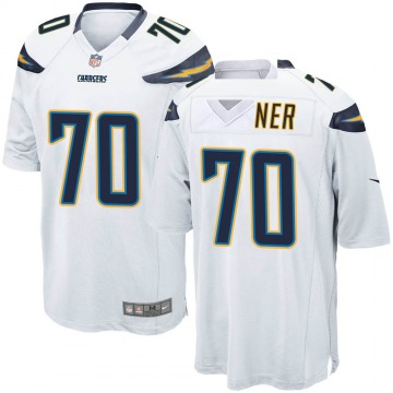 Youth Nike Los Angeles Chargers Trai Turner White Jersey - Game