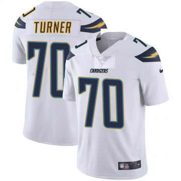 Youth Nike Los Angeles Chargers Trai Turner White Vapor Untouchable Jersey - Limited
