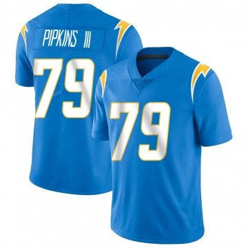 Youth Nike Los Angeles Chargers Trey Pipkins Blue Powder Vapor Untouchable Alternate Jersey - Limited