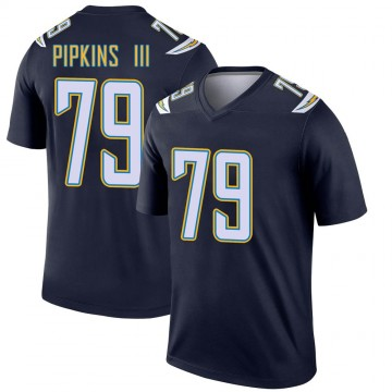 Youth Nike Los Angeles Chargers Trey Pipkins Navy Jersey - Legend