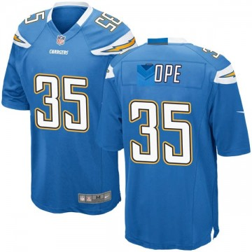 Youth Nike Los Angeles Chargers Troymaine Pope Blue Powder Alternate Jersey - Game
