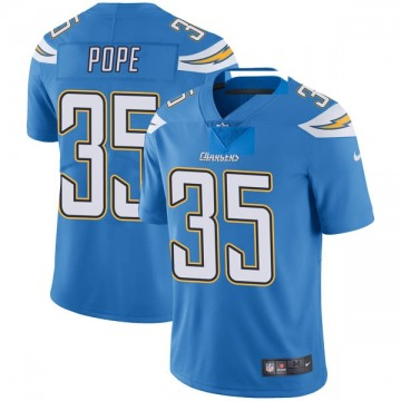 Youth Nike Los Angeles Chargers Troymaine Pope Blue Powder Vapor Untouchable Alternate Jersey - Limited