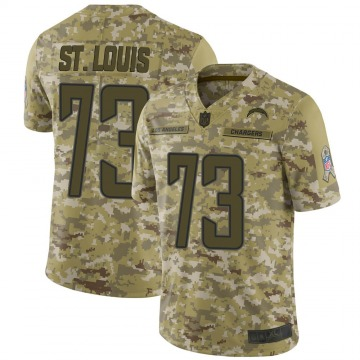 Youth Nike Los Angeles Chargers Tyree St. Louis Camo 2018 Salute to Service Jersey - Limited