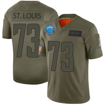Youth Nike Los Angeles Chargers Tyree St. Louis Camo 2019 Salute to Service Jersey - Limited