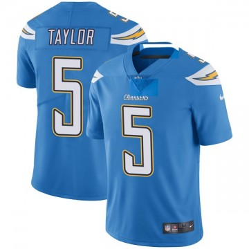 Youth Nike Los Angeles Chargers Tyrod Taylor Blue Powder Vapor Untouchable Alternate Jersey - Limited