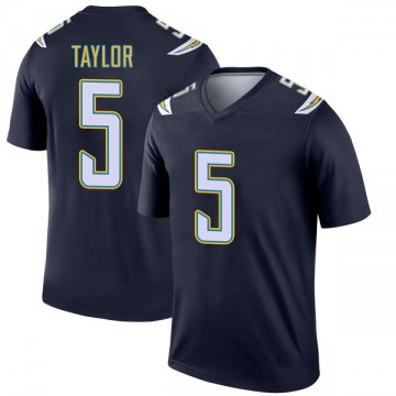 Youth Nike Los Angeles Chargers Tyrod Taylor Navy Jersey - Legend