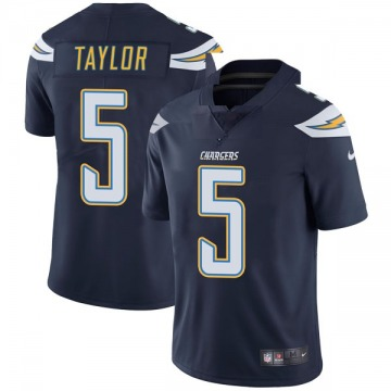 Youth Nike Los Angeles Chargers Tyrod Taylor Navy Team Color Vapor Untouchable Jersey - Limited