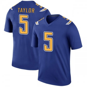 Youth Nike Los Angeles Chargers Tyrod Taylor Royal Color Rush Jersey - Legend
