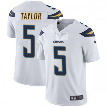 Youth Nike Los Angeles Chargers Tyrod Taylor White Vapor Untouchable Jersey - Limited