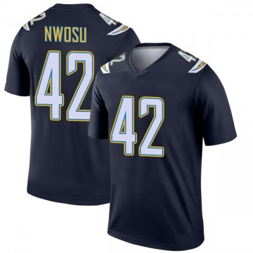 Youth Nike Los Angeles Chargers Uchenna Nwosu Navy Jersey - Legend