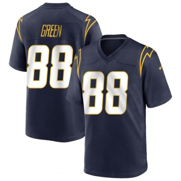 Youth Nike Los Angeles Chargers Virgil Green Green Navy Team Color Jersey - Game