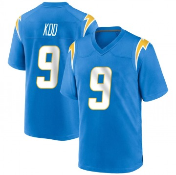 Youth Nike Los Angeles Chargers Younghoe Koo Blue Powder Alternate Jersey - Game