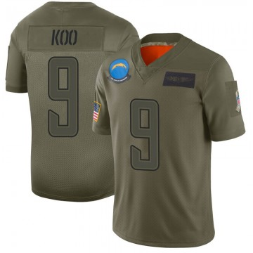 Youth Nike Los Angeles Chargers Younghoe Koo Camo 2019 Salute to Service Jersey - Limited