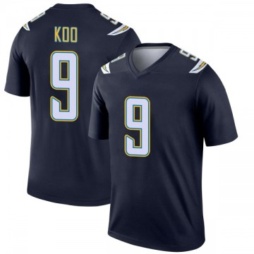 Youth Nike Los Angeles Chargers Younghoe Koo Navy Jersey - Legend