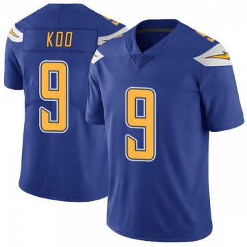Youth Nike Los Angeles Chargers Younghoe Koo Royal Color Rush Vapor Untouchable Jersey - Limited