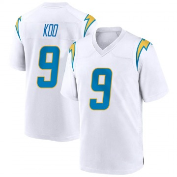 Youth Nike Los Angeles Chargers Younghoe Koo White Jersey - Game